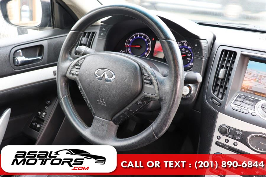 Used INFINITI G37 Coupe 2dr x AWD 2009 | Asal Motors. East Rutherford, New Jersey