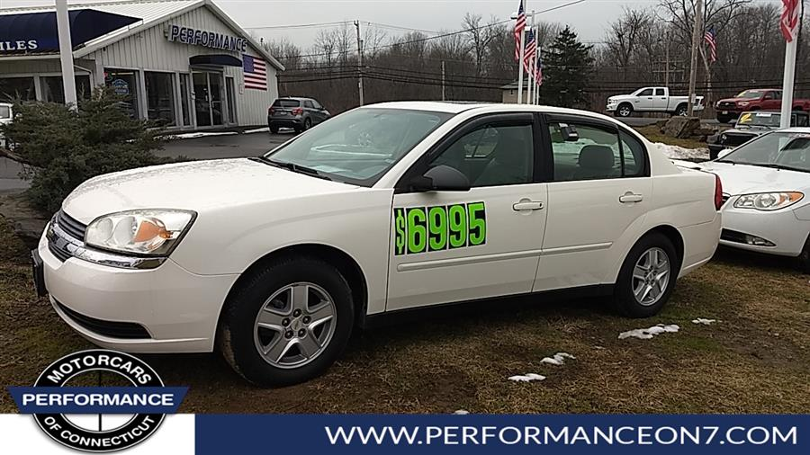 Used Chevrolet Malibu 4dr Sdn LS 2005 | Performance Motor Cars. Wilton, Connecticut
