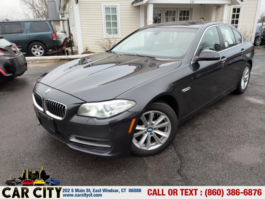 Used BMW 5 Series 4dr Sdn 528i xDrive AWD 2014 | Car City LLC. East Windsor, Connecticut