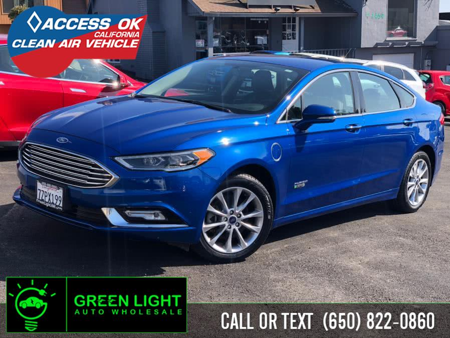 Used 2017 Ford Fusion Energi in Daly City, California | Green Light Auto Wholesale. Daly City, California