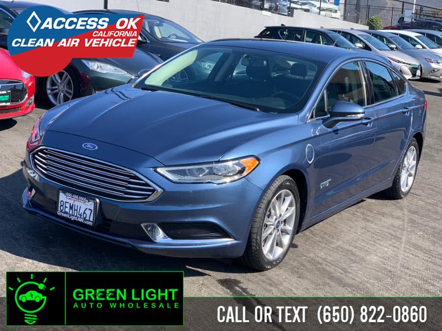 Used 2018 Ford Fusion Energi in Daly City, California | Green Light Auto Wholesale. Daly City, California