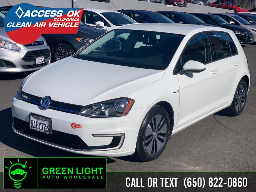 Used 2016 Volkswagen e-Golf in Daly City, California | Green Light Auto Wholesale. Daly City, California