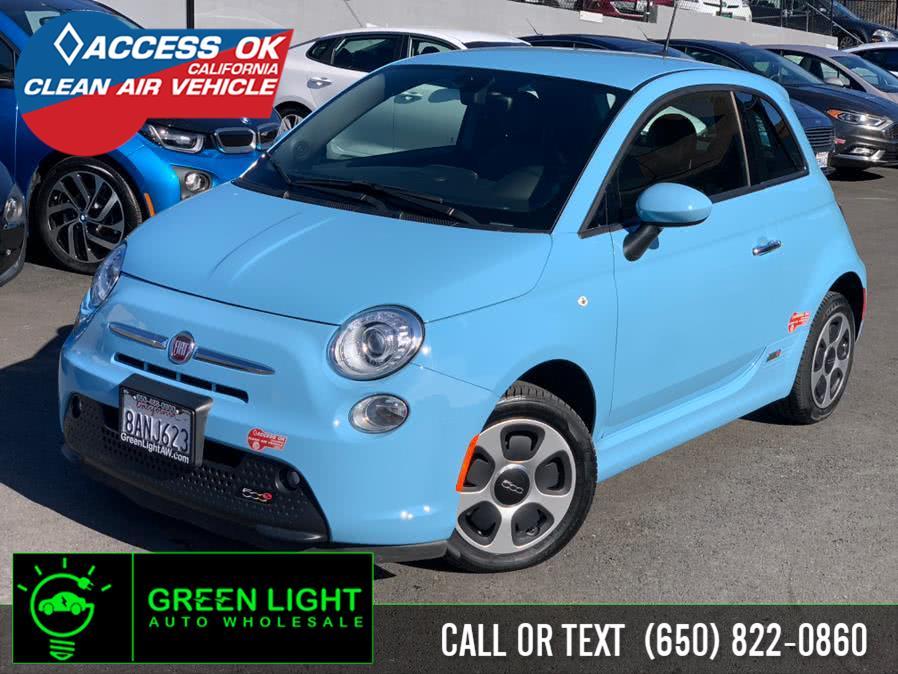 Used 2017 FIAT 500e in Daly City, California | Green Light Auto Wholesale. Daly City, California
