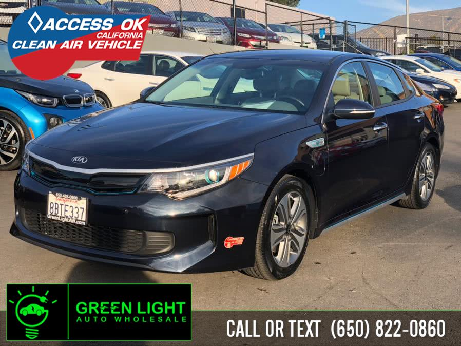 Used 2017 Kia Optima Plug-In Hybrid in Daly City, California | Green Light Auto Wholesale. Daly City, California