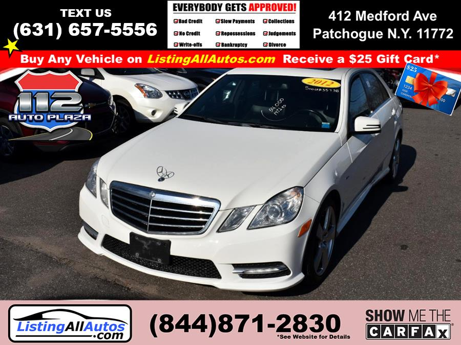 Used 2012 Mercedes-benz E-class in Patchogue, New York | www.ListingAllAutos.com. Patchogue, New York