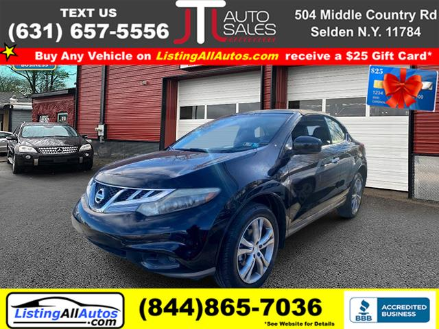 Used 2011 Nissan Murano Crosscabriolet in Patchogue, New York | www.ListingAllAutos.com. Patchogue, New York
