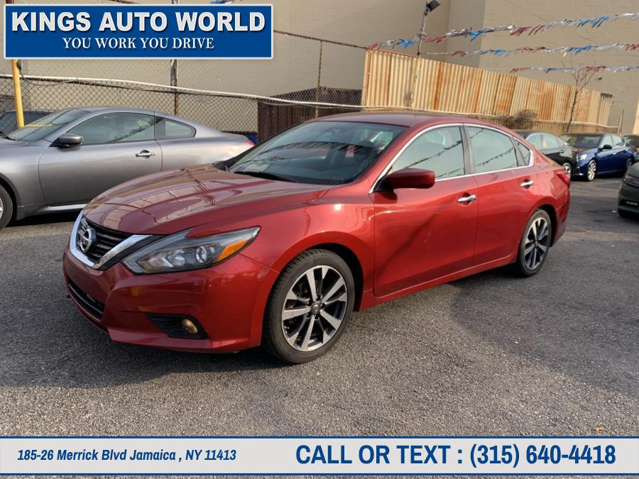 Used Nissan Altima 4dr Sdn I4 2.5 SR 2016 | Kings Auto World. Jamaica , New York