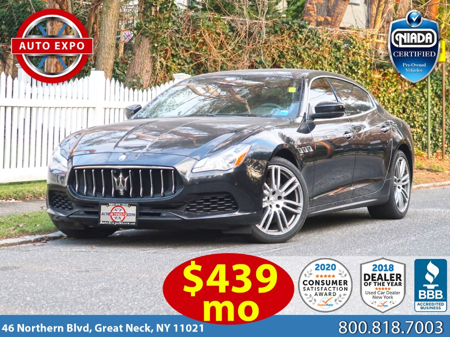 Used 2017 Maserati Quattroporte in Great Neck, New York | Auto Expo Ent Inc.. Great Neck, New York