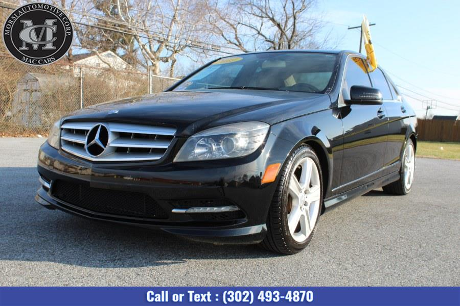 Used Mercedes-Benz C-Class 4dr Sdn C300 Luxury 4MATIC 2011 | Morsi Automotive Corp. New Castle, Delaware