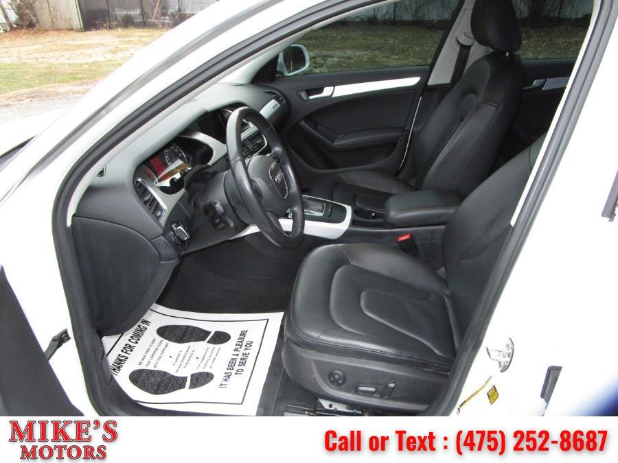 Used Audi A4 4dr Sdn Auto quattro 2.0T Premium Plus 2012 | Mike's Motors LLC. Stratford, Connecticut