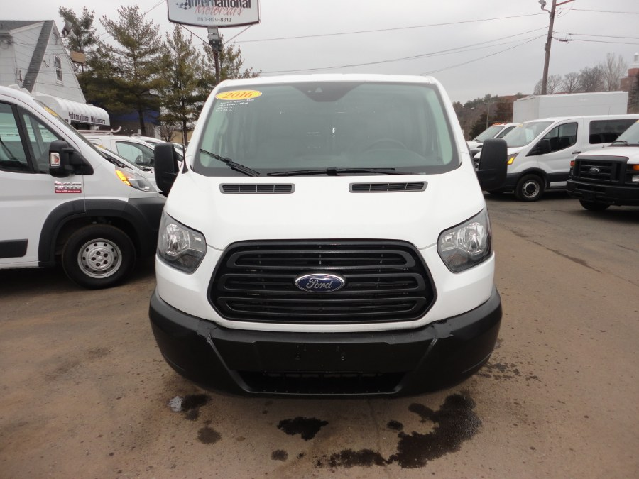 "Used Ford Transit Cargo Van T-350 148"" Low Rf 9500 GVWR Swing-Out RH Dr 2016 