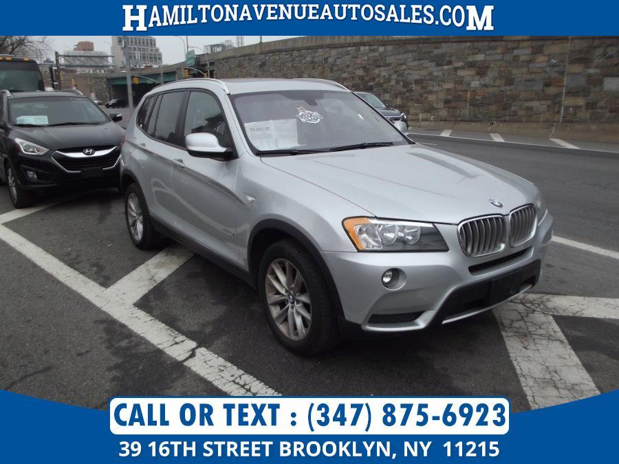Used BMW X3 AWD 4dr xDrive28i 2013 | Hamilton Avenue Auto Sales DBA Nyautoauction.com. Brooklyn, New York
