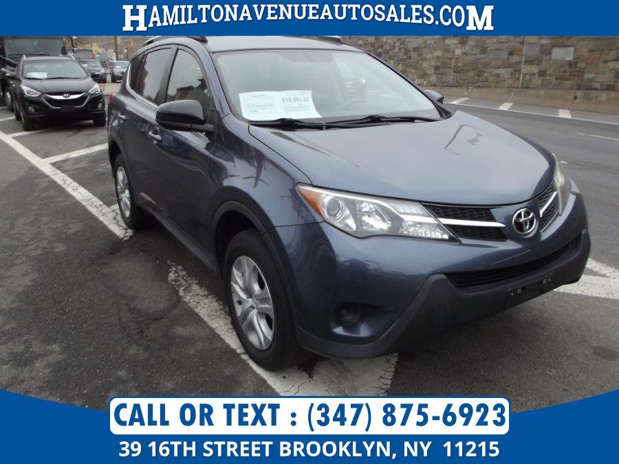 Used Toyota RAV4 AWD 4dr LE (Natl) 2014 | Hamilton Avenue Auto Sales DBA Nyautoauction.com. Brooklyn, New York
