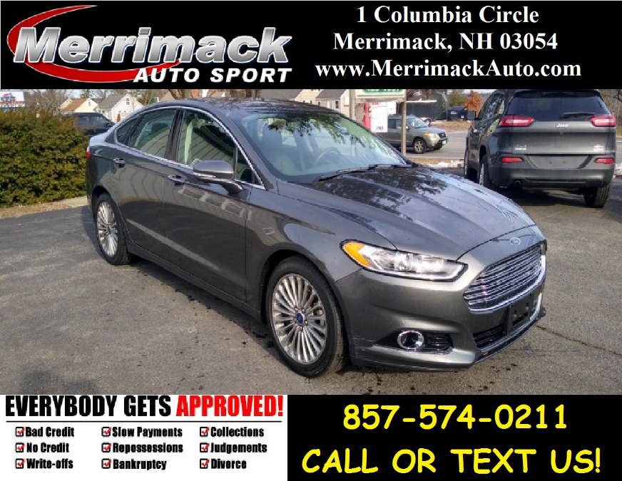 Used 2015 Ford Fusion in Merrimack, New Hampshire | Merrimack Autosport. Merrimack, New Hampshire