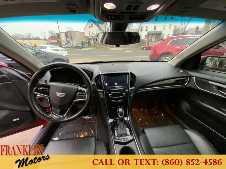 Used Cadillac ATS Coupe 2dr Cpe 2.0L Standard AWD 2015   Franklin Motors Auto Sales LLC. Hartford, Connecticut