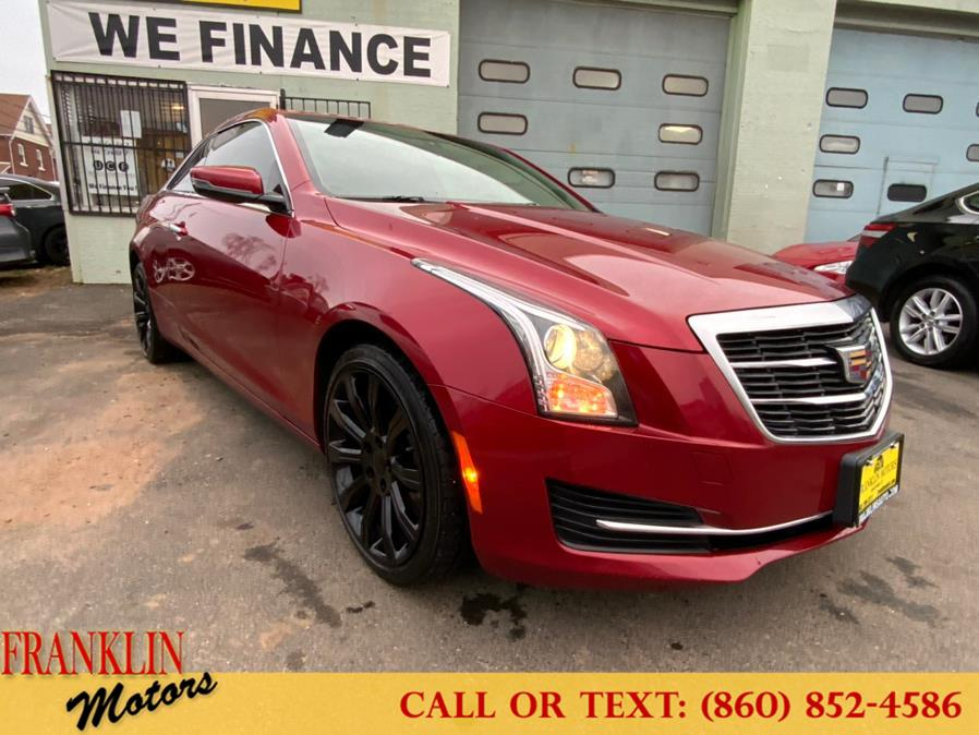 Used 2015 Cadillac ATS Coupe in Hartford, Connecticut | Franklin Motors Auto Sales LLC. Hartford, Connecticut