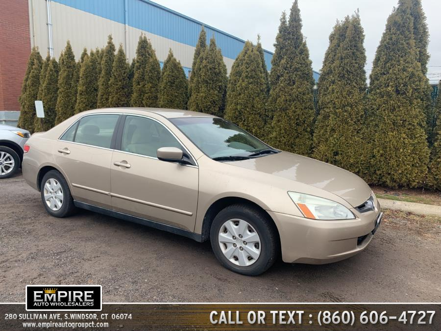 Used 2004 Honda Accord Sdn in S.Windsor, Connecticut | Empire Auto Wholesalers. S.Windsor, Connecticut