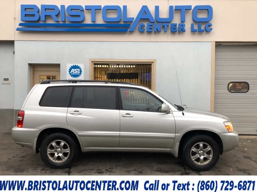 Used 2006 Toyota Highlander in Bristol, Connecticut | Bristol Auto Center LLC. Bristol, Connecticut