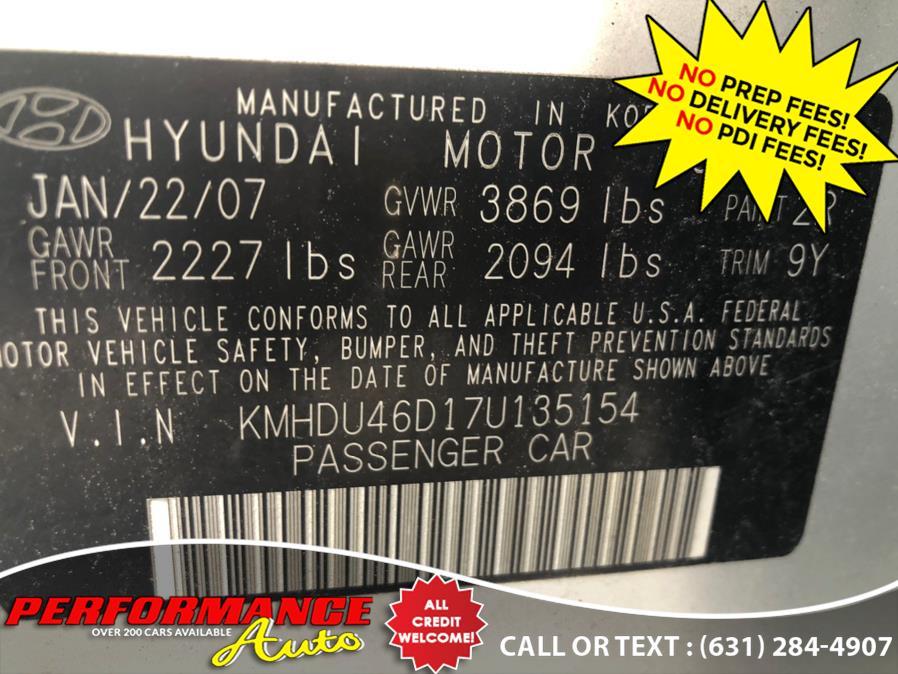 Used Hyundai Elantra 4dr Sdn Auto SE *Ltd Avail* 2007   Performance Auto Inc. Bohemia, New York