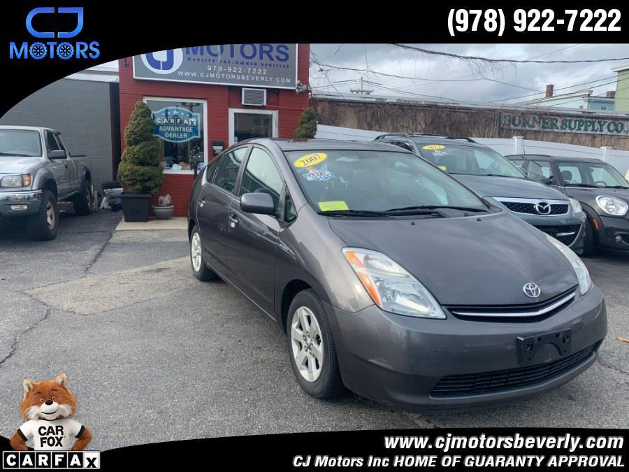 Used 2007 Toyota Prius in Beverly, Massachusetts   CJ Motors Inc. Beverly, Massachusetts