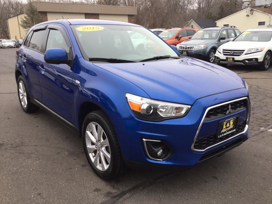 Used Mitsubishi Outlander Sport AWD 4dr CVT ES 2015 | L&S Automotive LLC. Plantsville, Connecticut