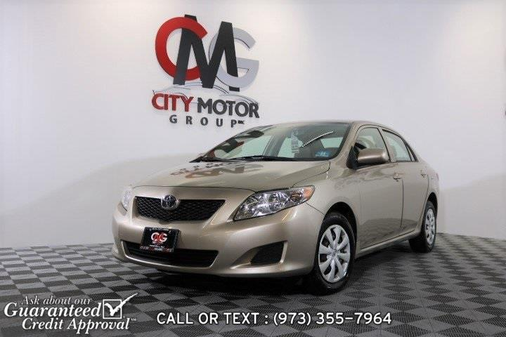 Used Toyota Corolla LE 2010 | City Motor Group Inc.. Haskell, New Jersey