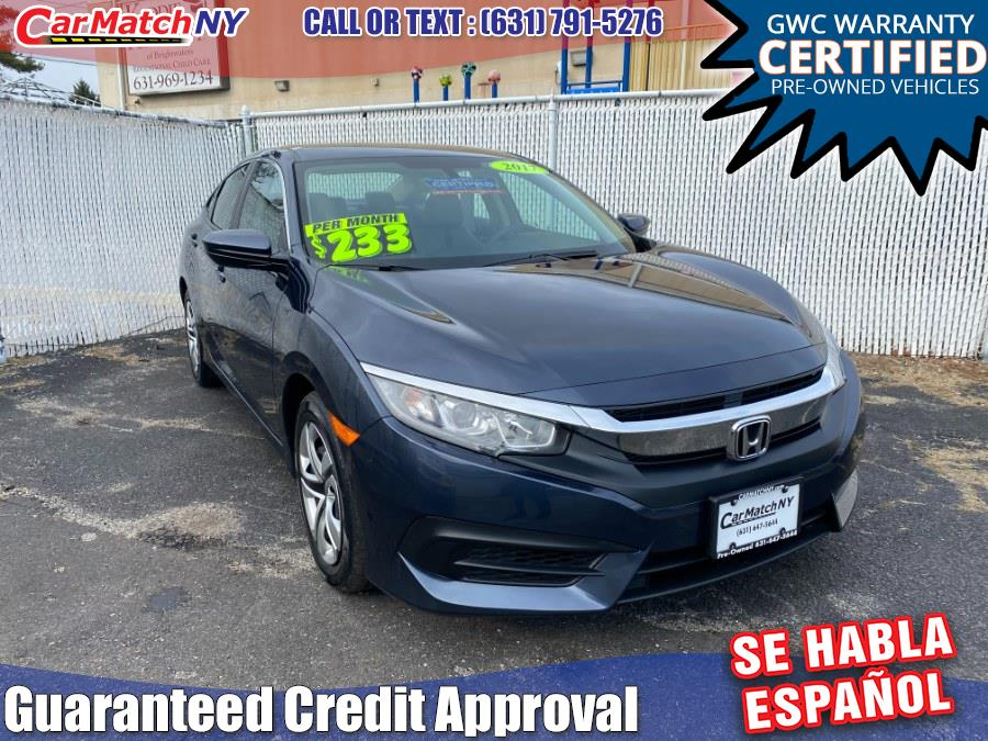 Used 2017 Honda Civic Sedan in Bayshore, New York | Carmatch NY. Bayshore, New York