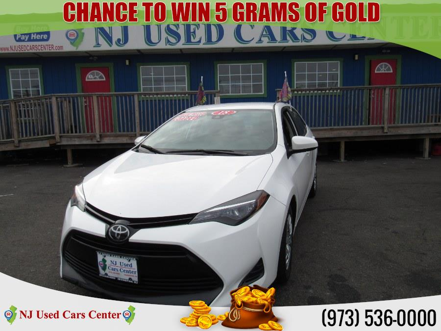 Used 2018 Toyota Corolla in Irvington, New Jersey | NJ Used Cars Center. Irvington, New Jersey