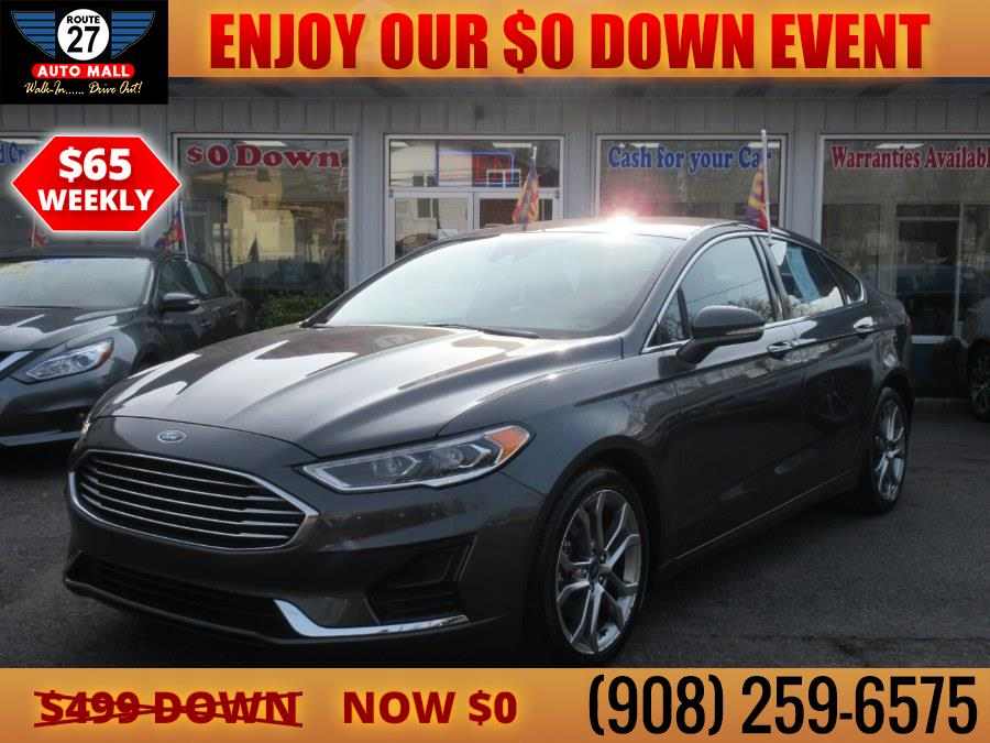 Used 2019 Ford Fusion in Linden, New Jersey | Route 27 Auto Mall. Linden, New Jersey
