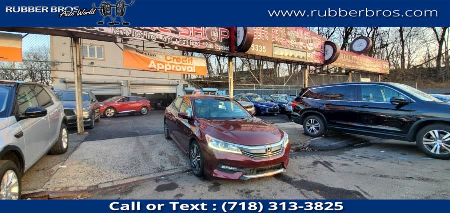 Used 2017 Honda Accord Sedan in Brooklyn, New York | Rubber Bros Auto World. Brooklyn, New York