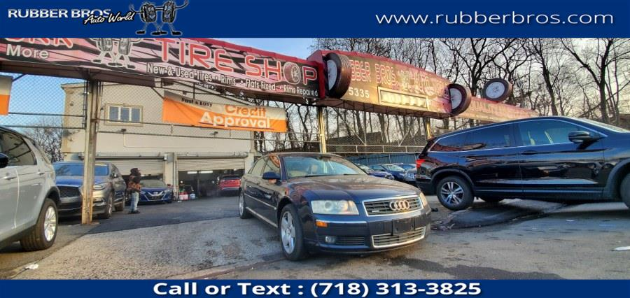 Used Audi A8 L 4dr Sdn 4.2L quattro AWD LWB Auto 2004 | Rubber Bros Auto World. Brooklyn, New York