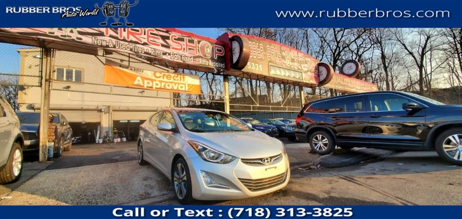 Used 2015 Hyundai Elantra in Brooklyn, New York | Rubber Bros Auto World. Brooklyn, New York