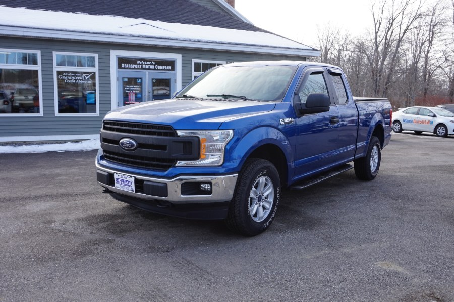 Used Ford F-150 XLT 4WD SuperCab 6.5'' Box 2018 | Rockland Motor Company. Rockland, Maine