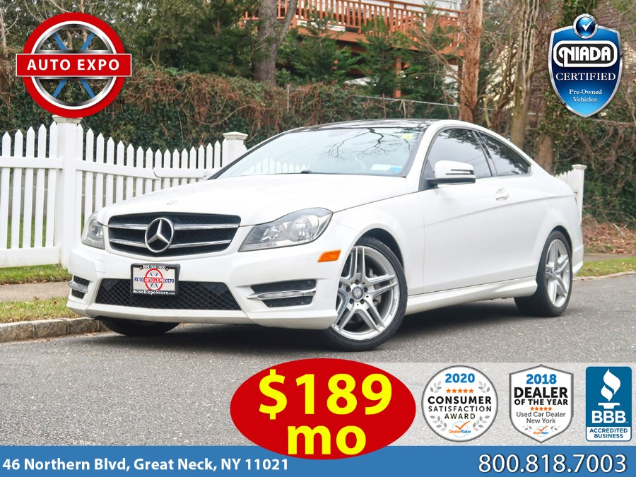 Used 2014 Mercedes-benz C-class in Great Neck, New York | Auto Expo Ent Inc.. Great Neck, New York