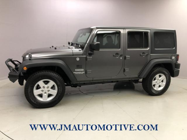 Used 2016 Jeep Wrangler Unlimited in Naugatuck, Connecticut | J&M Automotive Sls&Svc LLC. Naugatuck, Connecticut
