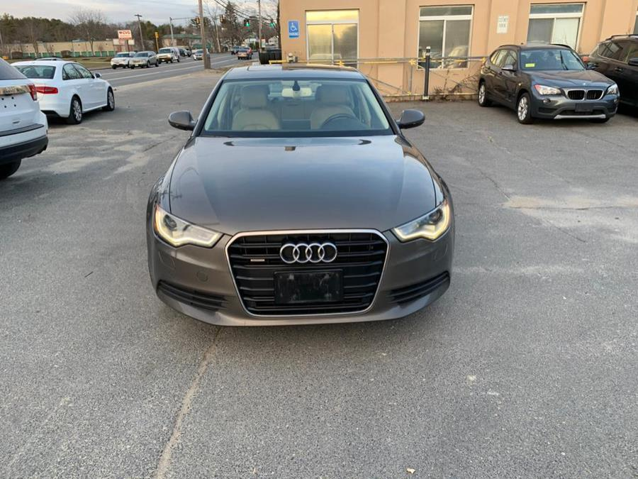 Used Audi A6 4dr Sdn quattro 2.0T Premium Plus 2013 | J & A Auto Center. Raynham, Massachusetts