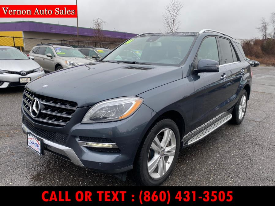 Used 2014 Mercedes-Benz M-Class in Manchester, Connecticut | Vernon Auto Sale & Service. Manchester, Connecticut