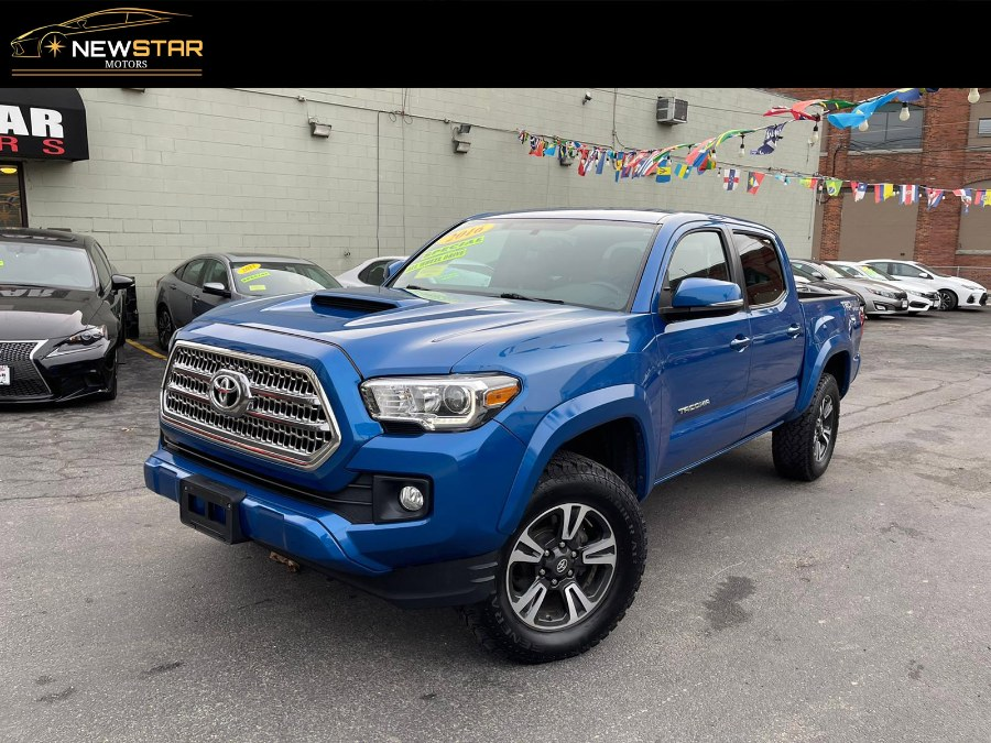 Used Toyota Tacoma TRD Sport 4x4 2016 | New Star Motors. Chelsea, Massachusetts