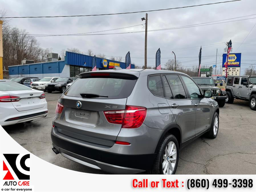 Used BMW X3 AWD 4dr xDrive28i 2013   Auto Care Motors. Vernon , Connecticut