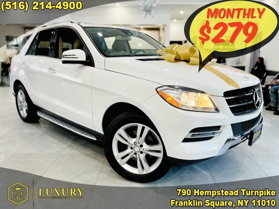 Used Mercedes-Benz M-Class 4MATIC 4dr ML350 2015 | Luxury Motor Club. Franklin Square, New York