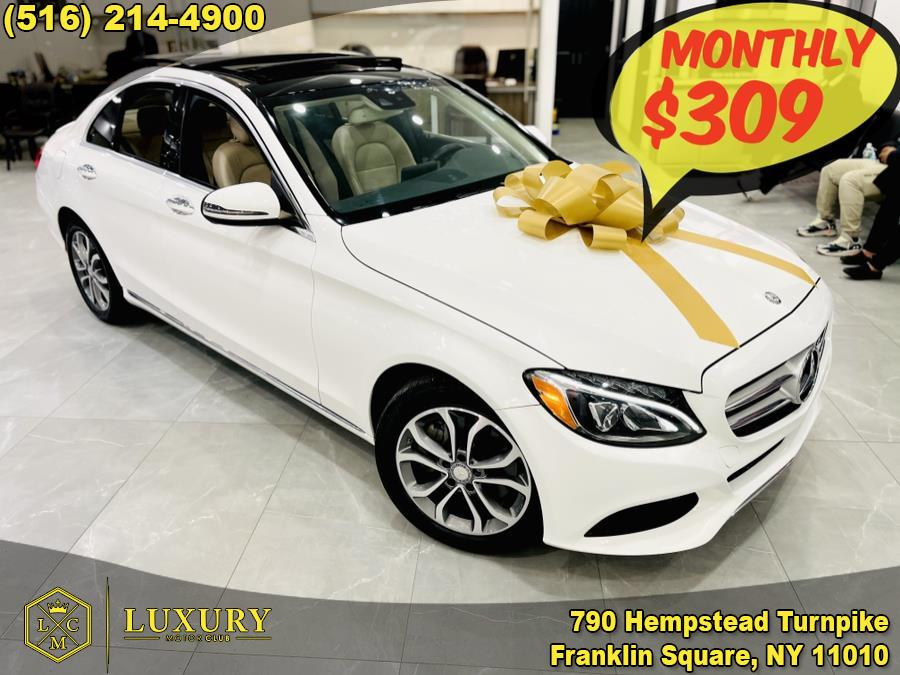 Used 2017 Mercedes-Benz C-Class in Franklin Square, New York | Luxury Motor Club. Franklin Square, New York