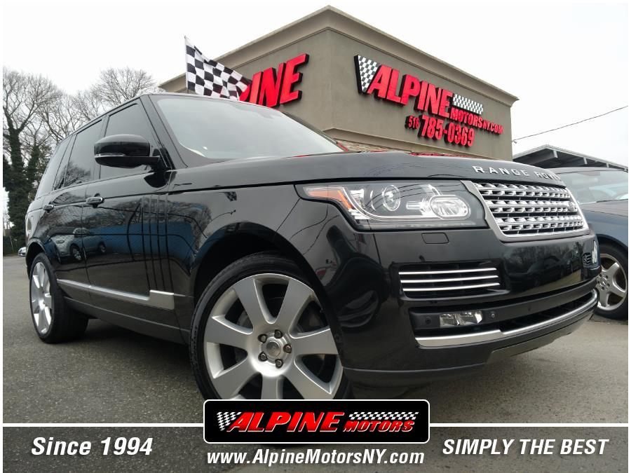 Used Land Rover Range Rover 4WD 4dr Supercharged Autobiography 2014   Alpine Motors Inc. Wantagh, New York