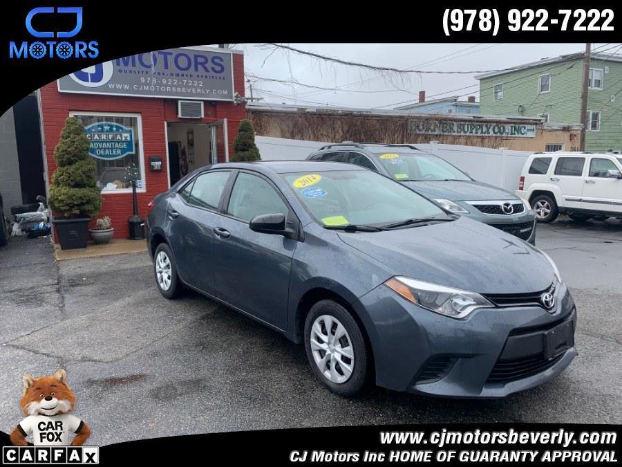 Used 2014 Toyota Corolla in Beverly, Massachusetts | CJ Motors Inc. Beverly, Massachusetts