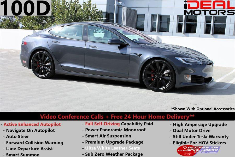 Used Tesla Model s 100D Sedan 4D 2017 | Ideal Motors. Costa Mesa, California
