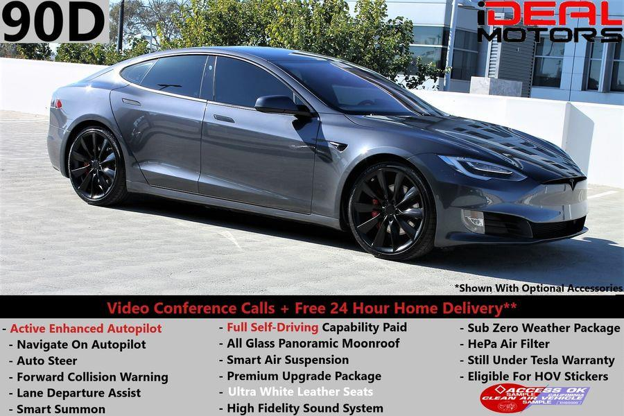 Used Tesla Model s 90D Sedan 4D 2017 | Ideal Motors. Costa Mesa, California