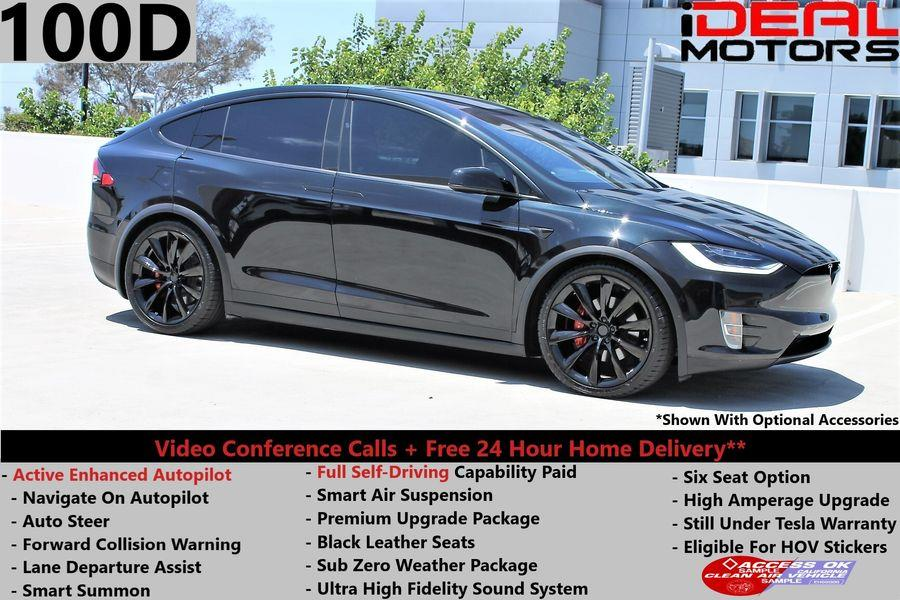Used Tesla Model x 100D Sport Utility 4D 2017 | Ideal Motors. Costa Mesa, California