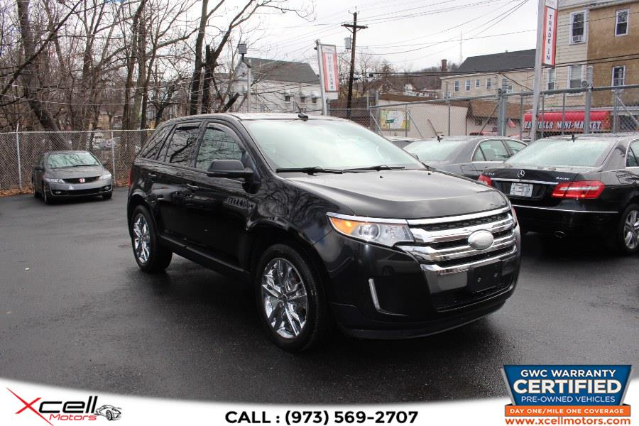 Used 2012 Ford Edge SEL AWD in Paterson, New Jersey | Xcell Motors LLC. Paterson, New Jersey