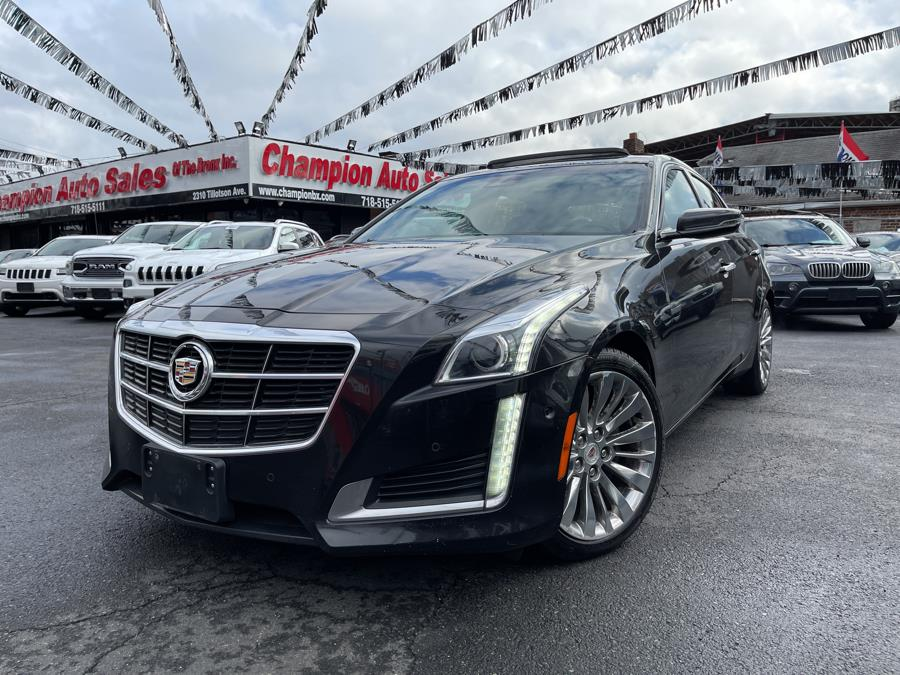 Used 2014 Cadillac CTS Sedan in Bronx, New York | Champion Auto Sales Of The Bronx. Bronx, New York