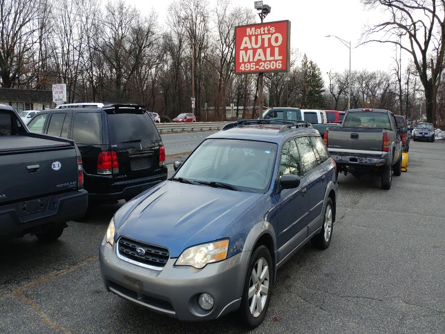 Used 2006 Subaru Legacy Wagon in Chicopee, Massachusetts | Matts Auto Mall LLC. Chicopee, Massachusetts