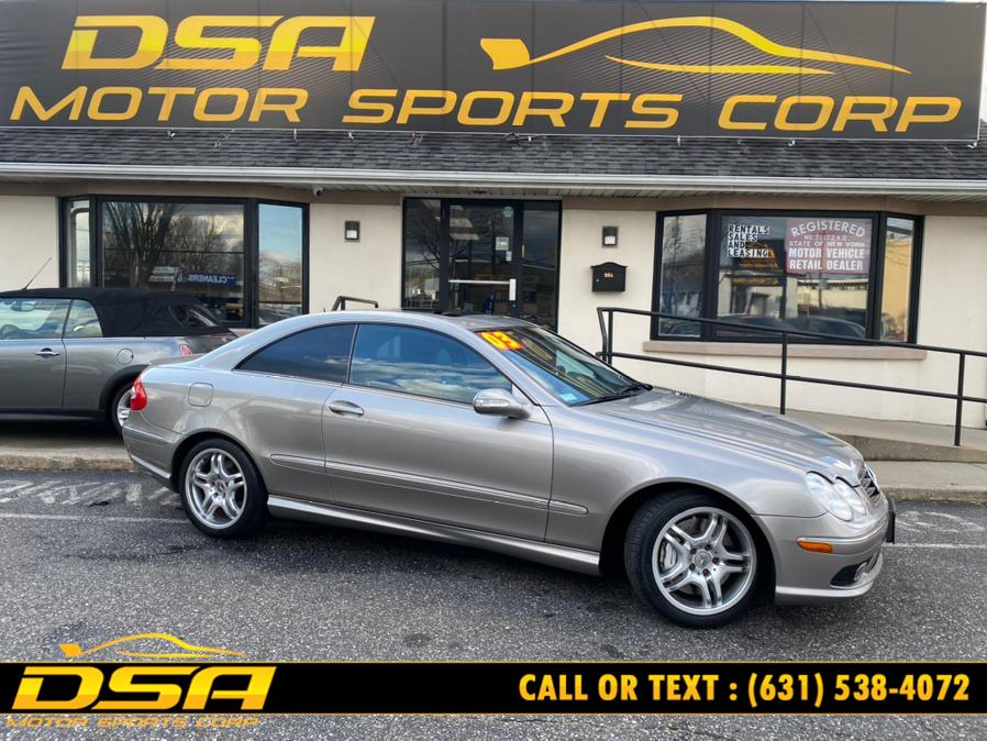 Used Mercedes-Benz CLK-Class 2dr Sport Coupe AMG 2003 | DSA Motor Sports Corp. Commack, New York
